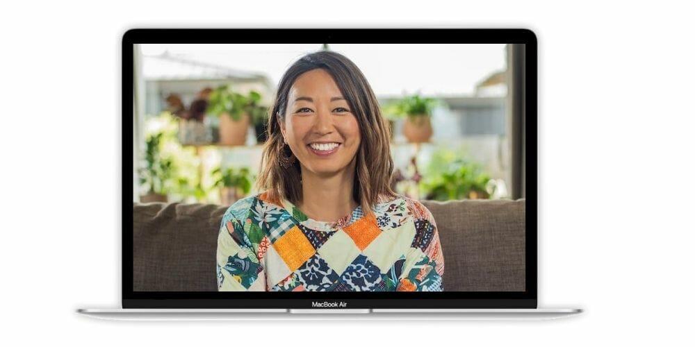 jin ong portrait on macbook computer screen